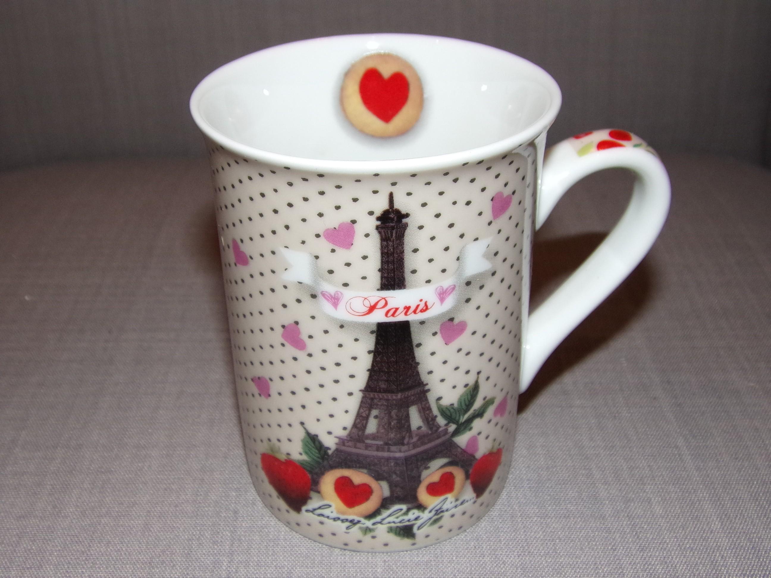 Modèle Eiffel Laissez Paris Tour Porcelaine Gourmand Mug 1JlFTK3c