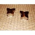Sel et poivre en forme de papillons chrome modèle Jodis Aulica