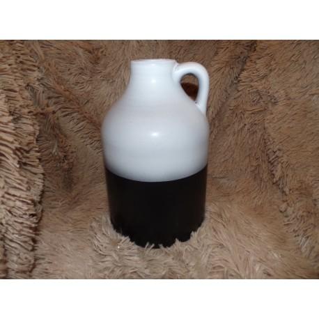 Vase bicolore gris modèle provence Amadeus