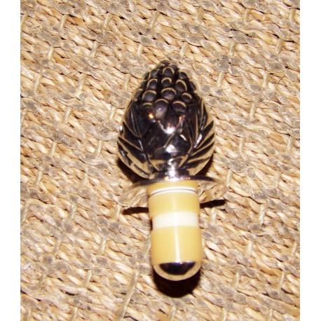 Bouchon décoratif pour bouteille de champagne vigne antique Aulica