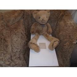 Peluche ours beige les copains calins GM 50CM Histoire d'ours H02446