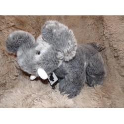 Peluche éléphant gris grand modèle Histoire d'ours H02505