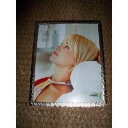 Cadre photo 20x25cm métal chrome minis décors octogonaux n°40