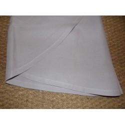 Nappe infroissable gris uni diamètre180cm Simla