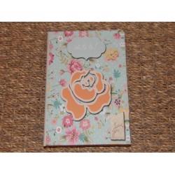 Carnet de notes décor fleurs Oh la la Signes grimalt