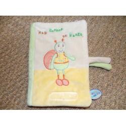 Protège carnet de santé escargot Le jardin merveilleux Doudou et compagnie