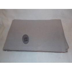 Dessus de lit/ couvre lit/ plaid 240x260cm taupe Simla