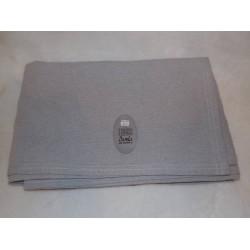 Dessus de lit/ couvre lit/ plaid 240x260cm gris Simla