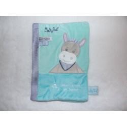 Protège carnet de santé Picotin l'âne turquoise Babynat BN0186