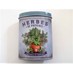 Herbes de Provence boite métal décorative Nova botanica