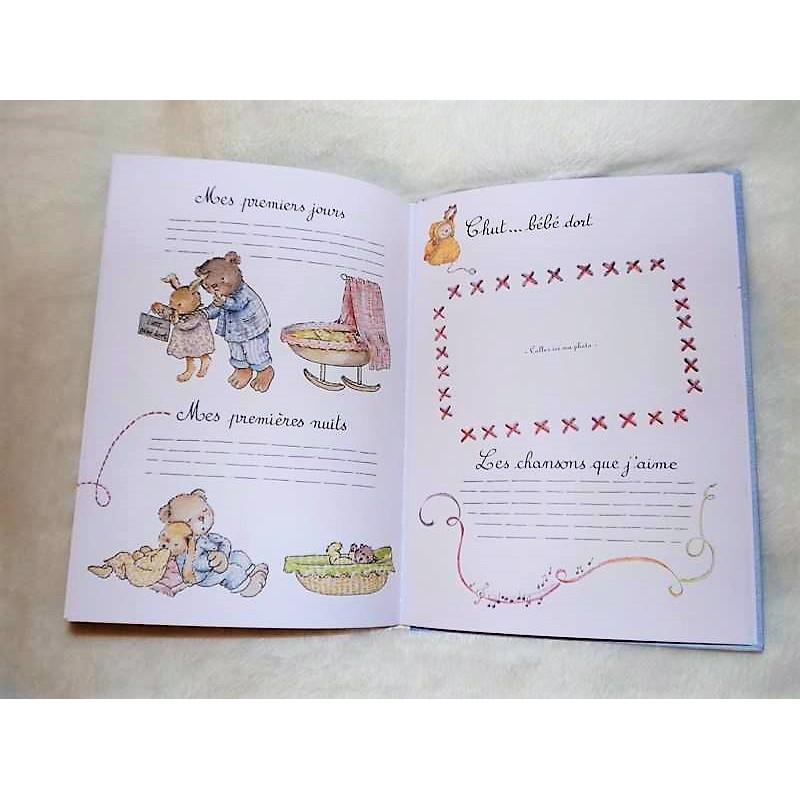 Livre De Naissance Mademoiselle Ribambelle Moulin Roty Livre