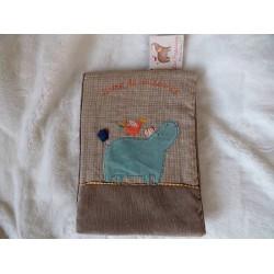 """Livre de naissance """"Les Papoum"""" Moulin roty"""